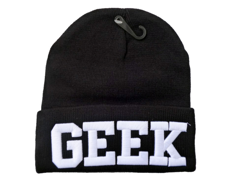 Geek Beanies Hats Hip Hop wool winter Cotton knitted warm caps Snapback hat for man and women 1pcs-in Skullies & Beanies from Apparel & Accessories on Aliexpress.com