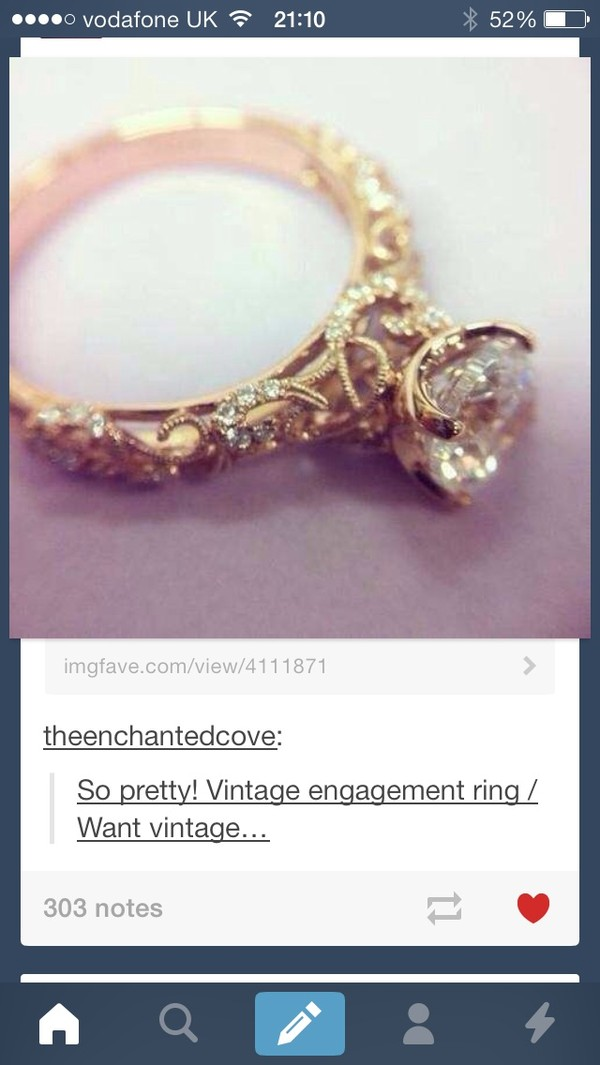 hipster engagement rings - photo #16