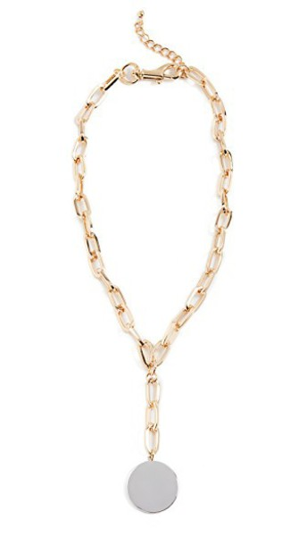 Rebecca Minkoff necklace gold jewels