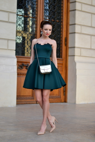 my silk fairytale blogger coat dress shoes bag jewels