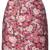 Adam Lippes - floral patterned mini skirt - women - Silk/Polyamide/Polyester/Metallic Fibre - 8, Pink/Purple, Silk/Polyamide/Polyester/Metallic Fibre