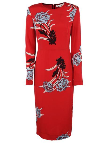 Diane Von Furstenberg dress red