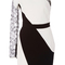 Asymmetrical one sleeve mini dress   moda operandi