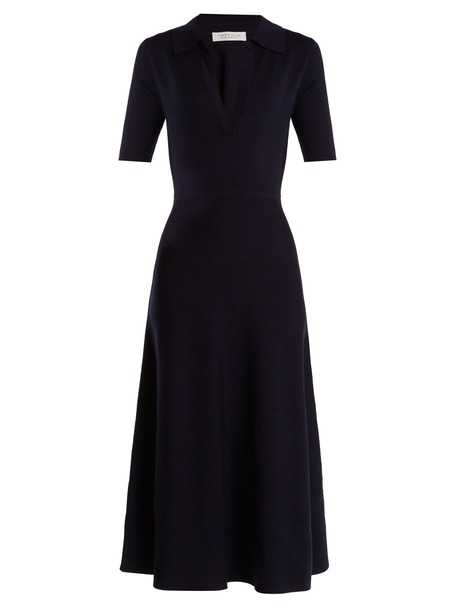 Gabriela Hearst dress wool navy