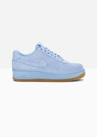 & Other Stories | Nike Air Force 1 Upstep Suede | Blue