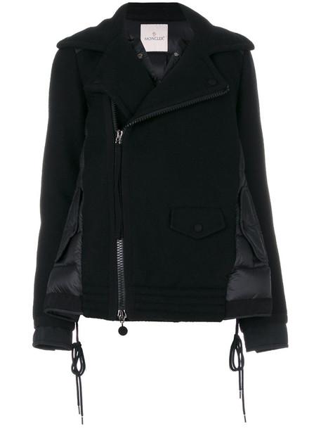 moncler jacket women black