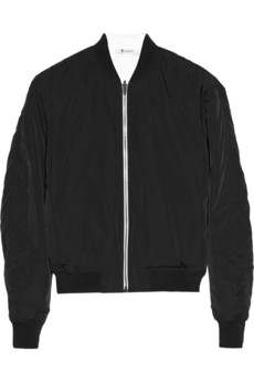 T by Alexander Wang Reversible shell bomber jacket - 55% Off Now at THE OUTNET