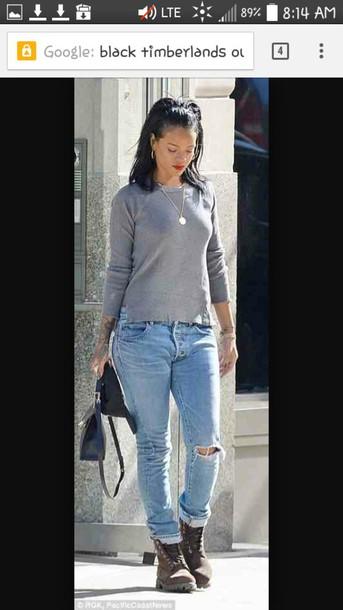 top rihanna jeans rihanna shirt