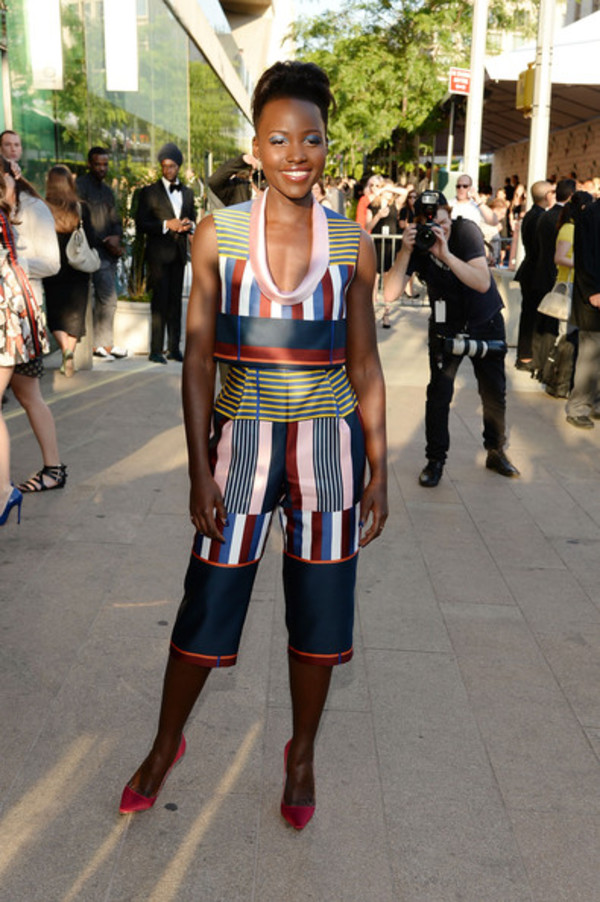 top lupita nyong'o pants shoes