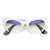 Trendy Womens Fashion Modern Cat Eye Bottom Cut Sunglasses 9232