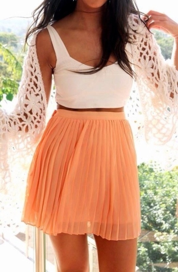 blouse tank top skirt