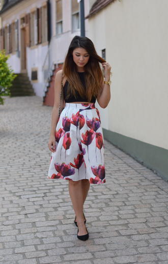 raspberry jam blogger top skirt bag