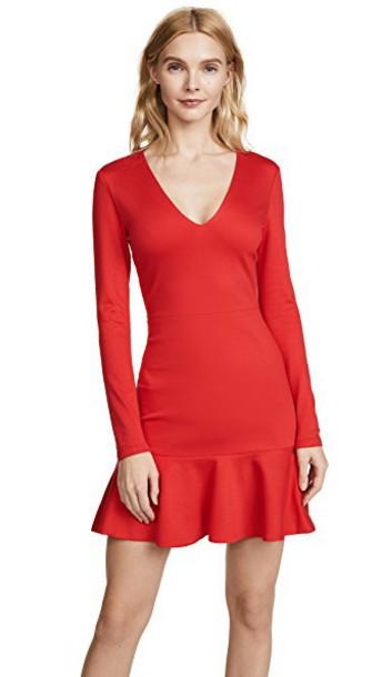 alice + olivia dress flare dress flare fit