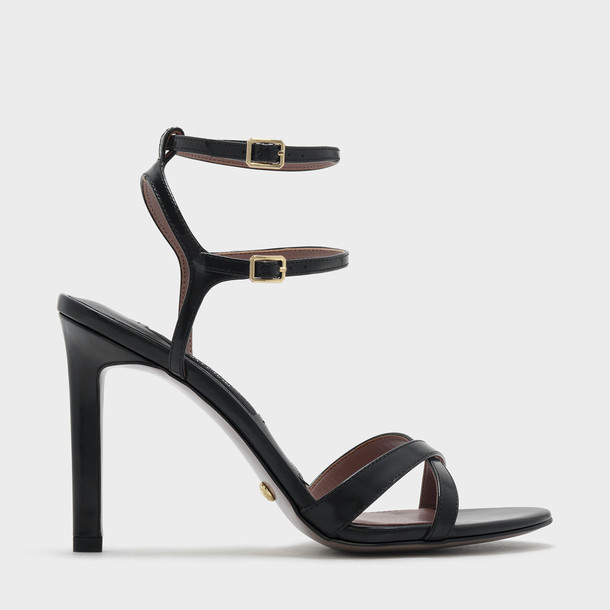cross sandals leather sandals leather black shoes
