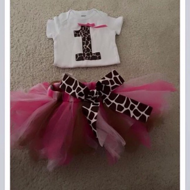 dress baby tutu one year