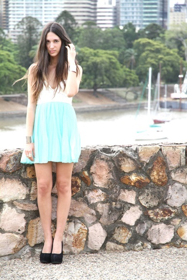 Mint Tea Dress | SABO SKIRT