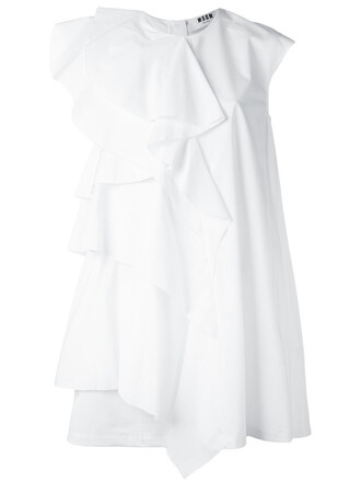 dress shift dress women white cotton