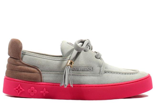 bebf8f53c3caf Kixclusive - Louis Vuitton x Kanye West Mr. Hudson Grey   Pink