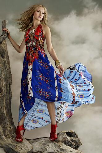 dress blue summer dress parides bikiniluxe