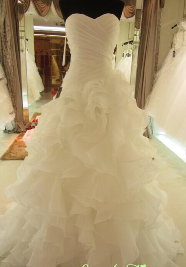 wedding dress white dress dress