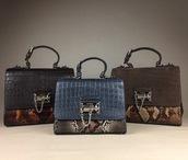 bag,crocodile,leather,snake skin,python,handbag,monica,alligator