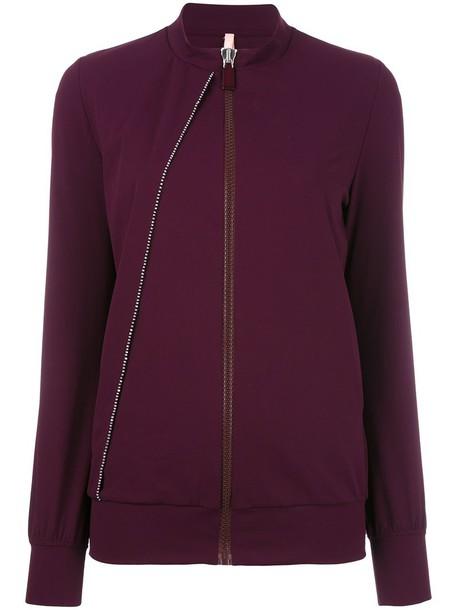 cardigan cardigan women spandex purple pink sweater