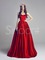 Line sweetheart neckline sweep train prom dress under 200