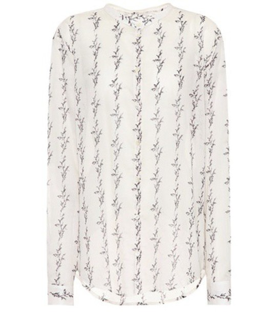 Saint Laurent shirt cotton white top