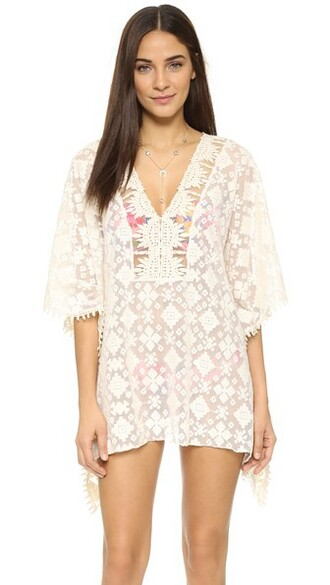 tunic beach white top