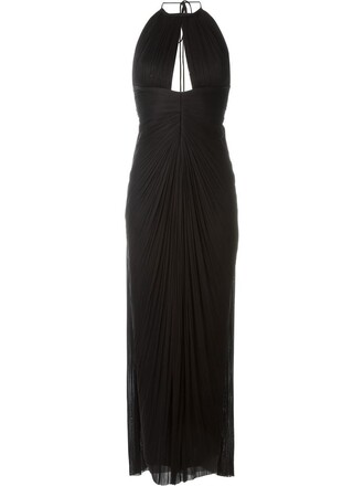 gown black dress