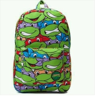 bag tmnt bookbag colorful vibrant cool