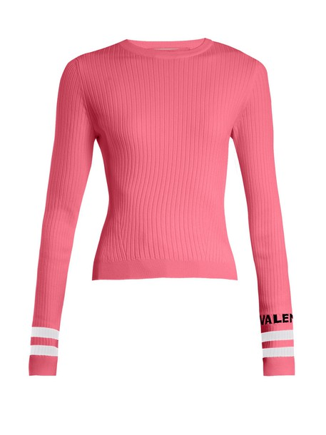 Valentino sweater knit pink