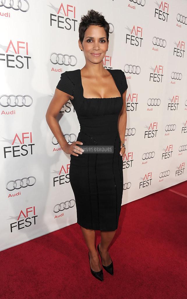 Square Neck Column Cap Sleeves Tea Length Black Satin Celebrity Dress - Promdresshouse.com