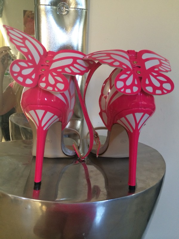 shoes butterfly sandals