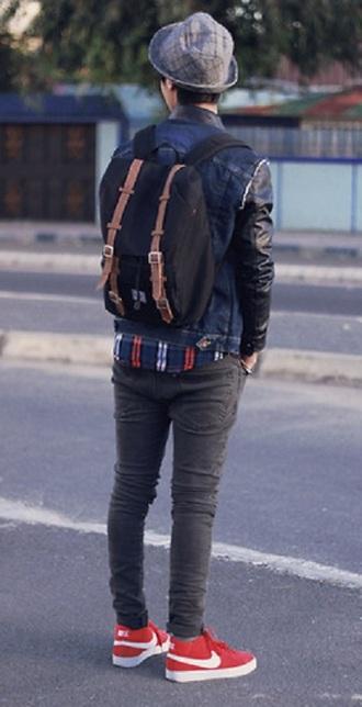 jeans pants grey skinny slim