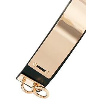 ASOS | Cinturón con placa y aro de ASOS en ASOS