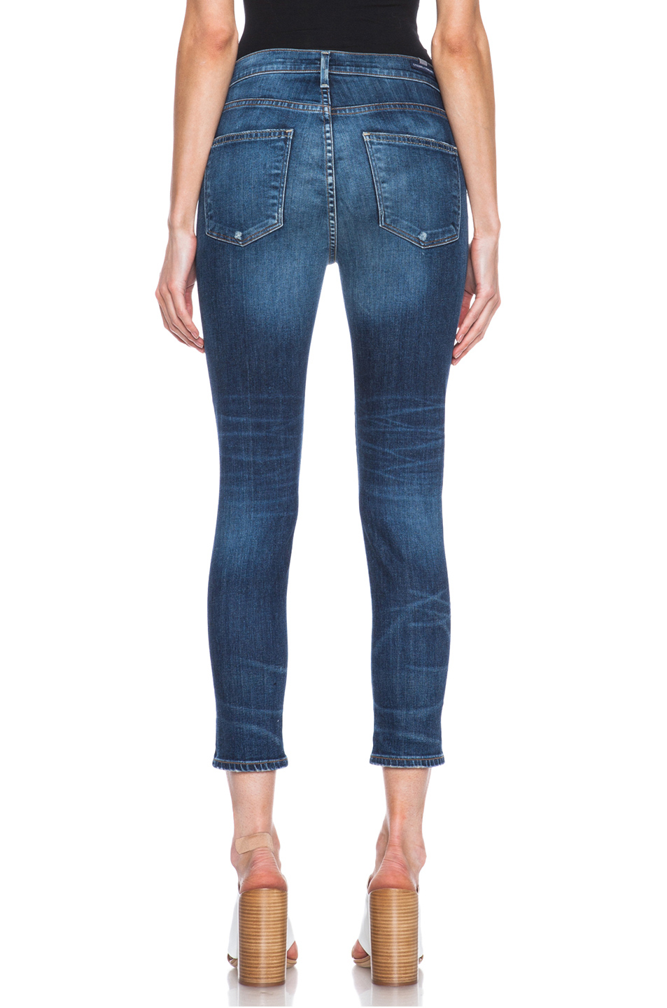 Citizens of Humanity|Rocket High Rise Crop Jean in Weekender
