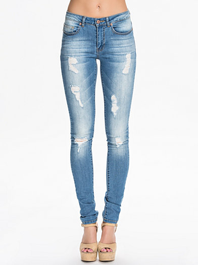 Lucy Super Slim Jeans, Noisy May