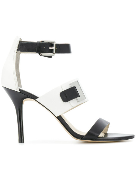 MICHAEL Michael Kors strappy women sandals strappy sandals leather black shoes