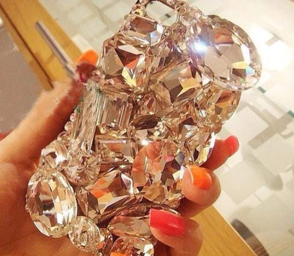 jewels phone cover crystal diamonds