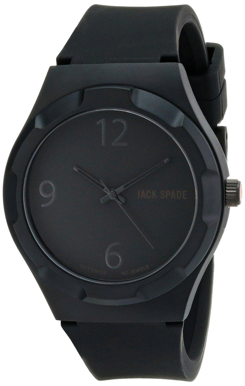 Amazon.com: jack spade men's wuru0063 graphic analog display japanese quartz black watch: watches