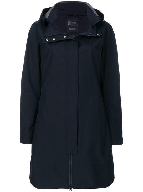 Herno parka women black coat