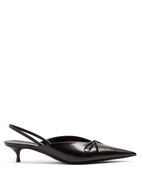 Balenciaga pumps black shoes