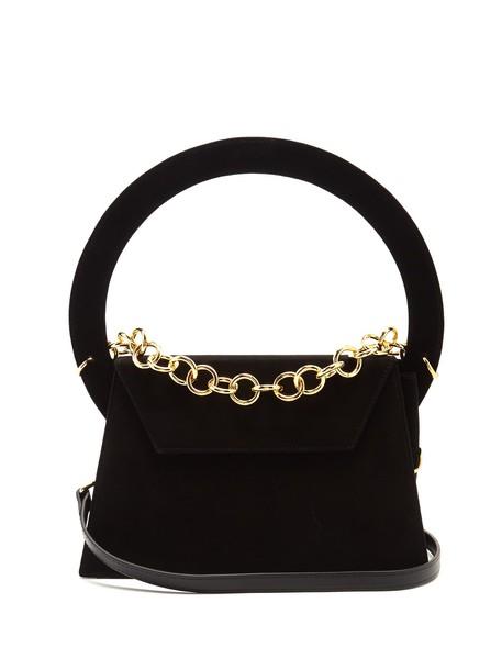 Jacquemus bag shoulder bag suede black