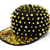 Lets Fashion Jewlery Online, Discount, Coupon, Stretch Ring sale. Gold Spike Snapback Cap