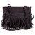 New Womens Faux Suede Leather Tassel Fringe Shoulder Handbag Fashion Purse Bag