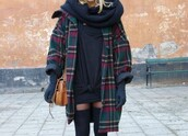 jacket,plaid,fall outfits,fall layers,fall layering,winter outfits,winter layering,layered,oversized scarf,coat,plaid coat,plaid jacket,oversized coat,wool coat,gloves,suede,suede gloves,overcoat,woolen overcoats,wool jacket,layers,winter swag