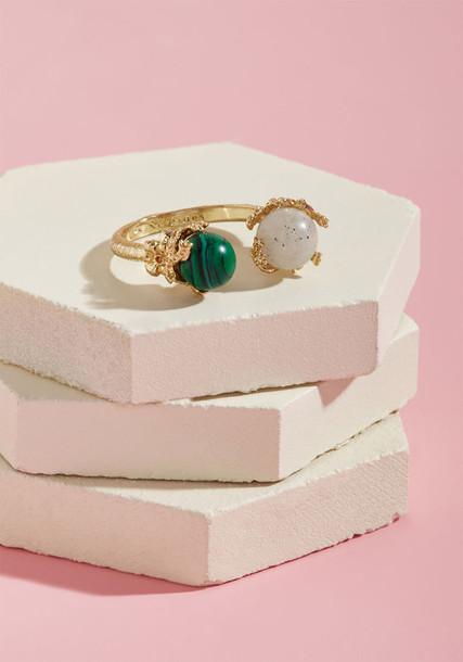 Les Nereides ring jewels