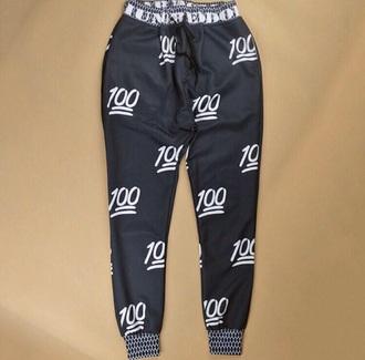 pants black joggers 100 joggers pants