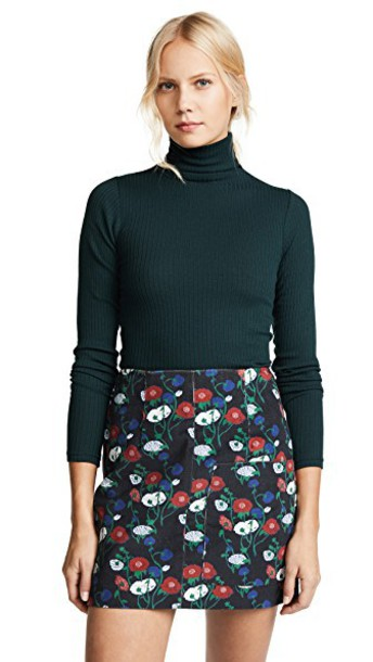 Club Monaco sweater turtleneck turtleneck sweater dark